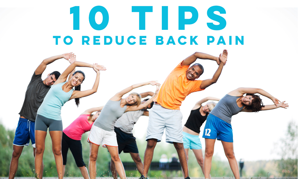 10 Tips for Back Pain Relief